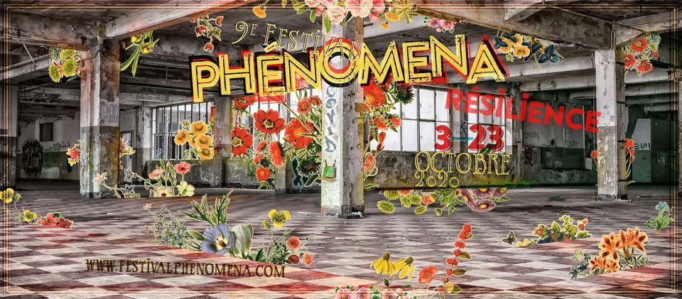 affiche festival Phénomena 2020