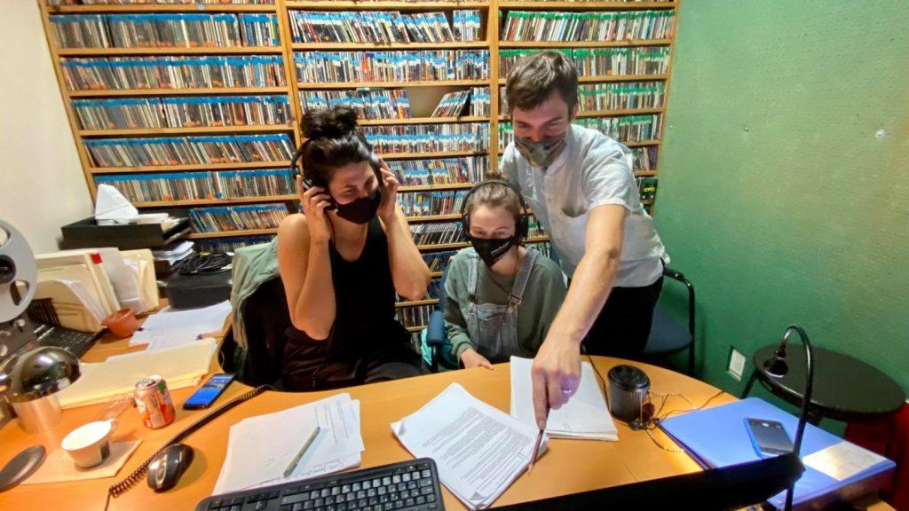 Lucie, Élizabeth et Vincent, Haut du Lac, Radio Théâtre Premier Acte