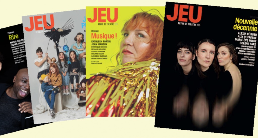 4 derniers numéros de JEU
