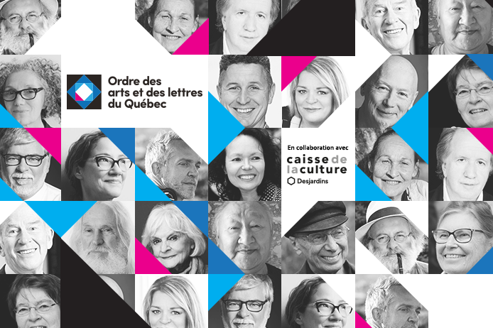 L'Ordre des arts et des lettres du Québec accueille…