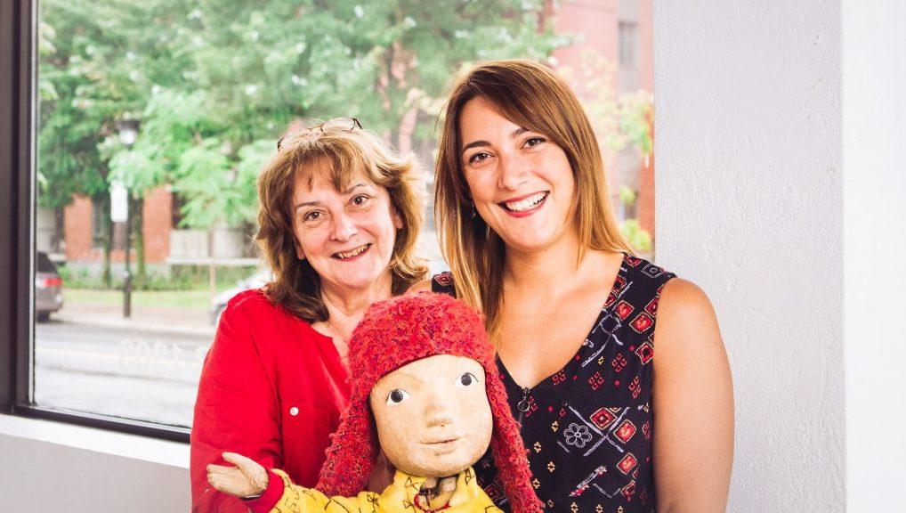 Claire Voisard et Sabrina Baran