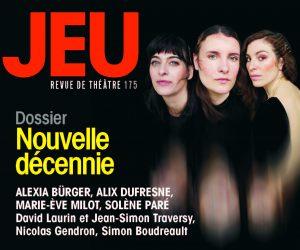 Alexia Bürger, Solène Paré, Alix Dufresne, JEU 175 | Nouvelle décennie