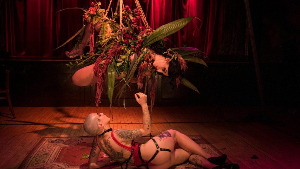 Roxy Torpedo et Dante dans Cabaret Secret de Cirquantique-Phenomena 2020